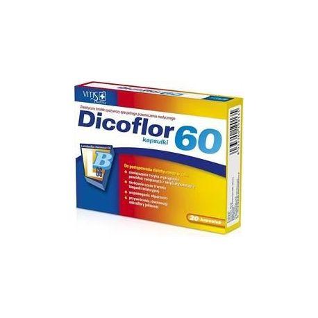 Dicoflor 60 * 20 kaps
