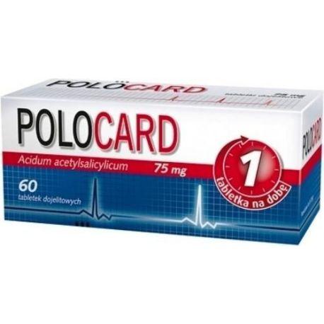 Polocard 150 mg * 60 tabletek