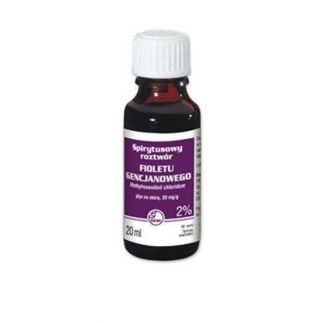 Pyoctanina 2% roztwór spirytusowy * 20 ml