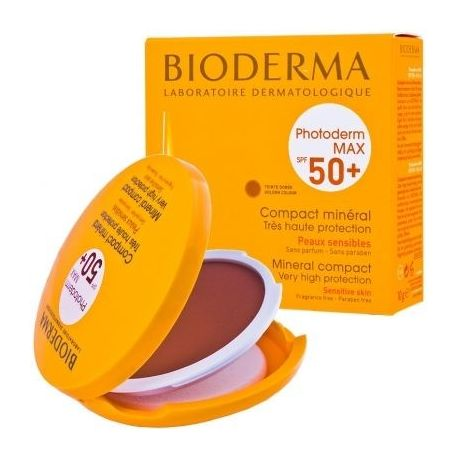 Bioderma Photoderm * Max Compact Golden Pude * Puder- odcień ciemny * 10 g