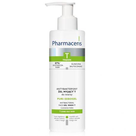 Pharmaceris T Puri-Sebogel * Żel myjący do twarzy * 190 ml