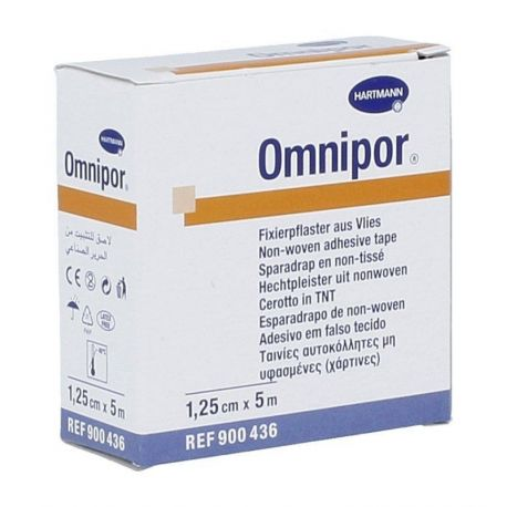 Omnipor - Plaster * 1,25 cm X 5 m - 1 szt