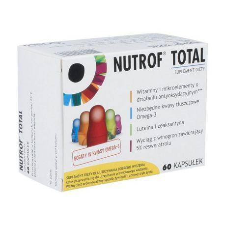 Nutrof Total * 60 kapsułek