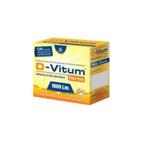 D-Vitum Forte 1000 * 120 kaps