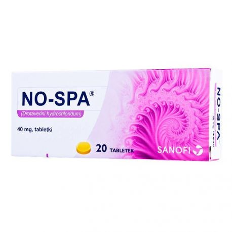 No - Spa 40 mg * 20 tabletek