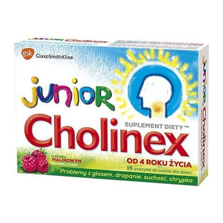 Cholinex Junior * 16 pastylek