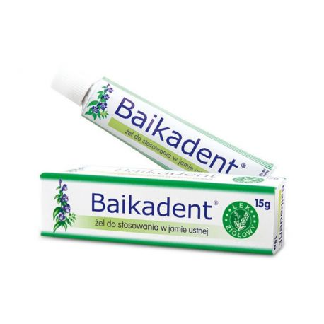Baikadent - żel * 15 g