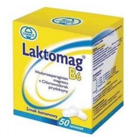 Laktomag B6 * 50 tabletek