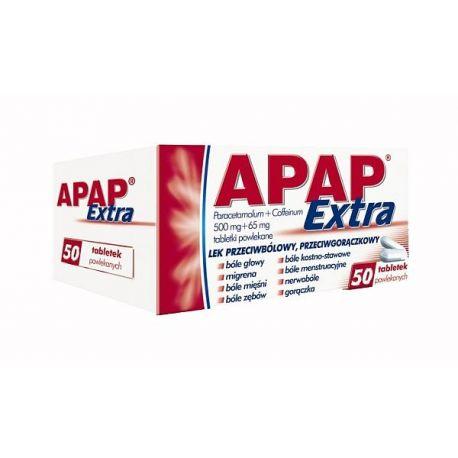 Apap extra * 50 tabletek