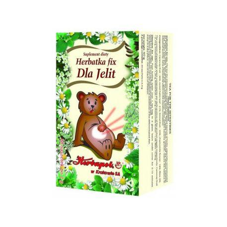 Herbapol * Herbatka fix - dla Jelit  * 20 saszetek