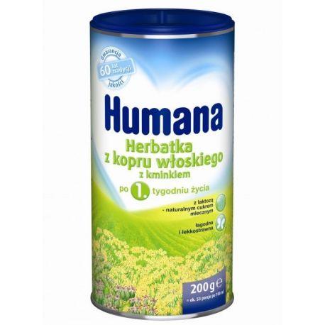 Humana * Herbatka z kopru włoskiego z kminkiem * 200 g