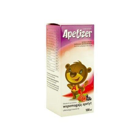Apetizer - syrop * smak malinowo - porzeczkowy * 100 ml