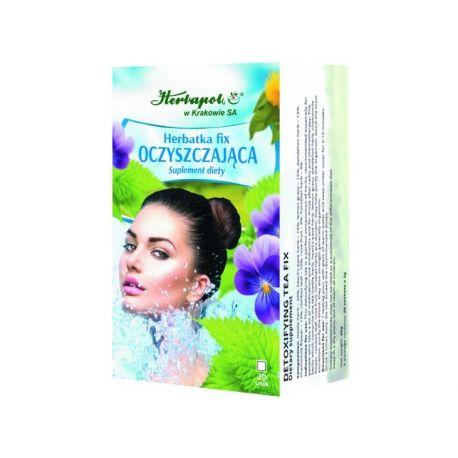 Herbapol * Herbatka fix - Oczyszczajaca * 20 saszetek