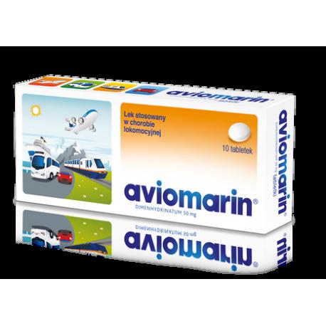 Aviomarin 50 mg * 10 tabletek