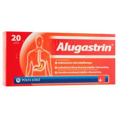 Alugastrin * 20 tabl