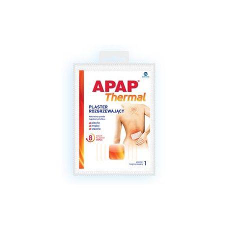 Apap Thermal * Plaster rozgrzewajacy * 1 szt