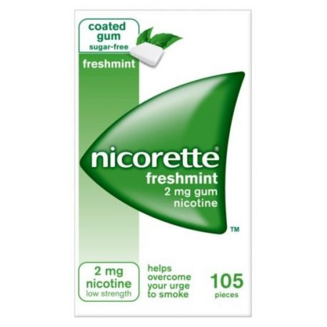 Nicorette Freshmint Guma 2mg * 105szt