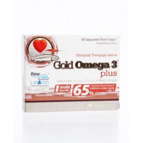 Olimp Gold Omega 3 -  Plus * 60 kapsułek