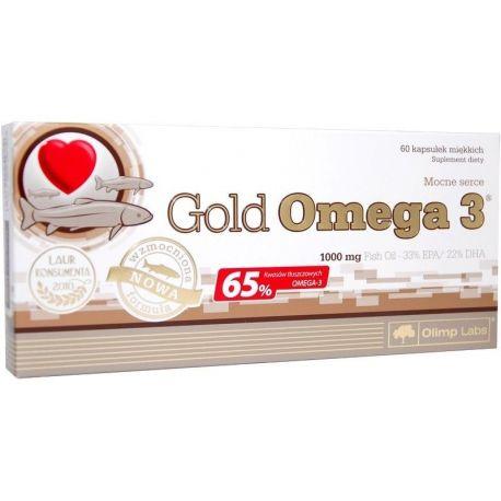 Olimp Gold Omega 3 - 1000 * 60 kapsułek