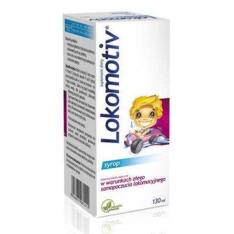 Lokomotiv - syrop landrynkowy * 130 ml