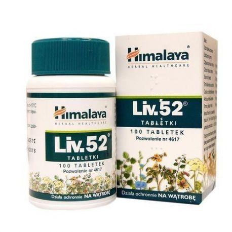 Himalaya * Liv 52  * 100 tabletek