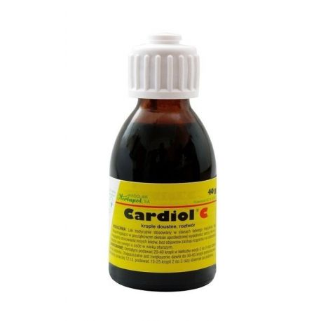 Cardiol C - krople * 40 g