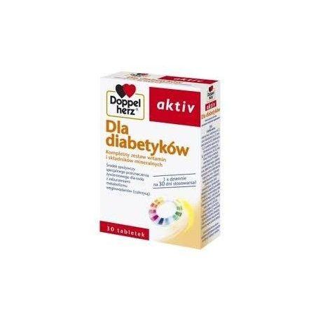 Doppelherz Aktiv * Dla Diabetyków * 30 tabl