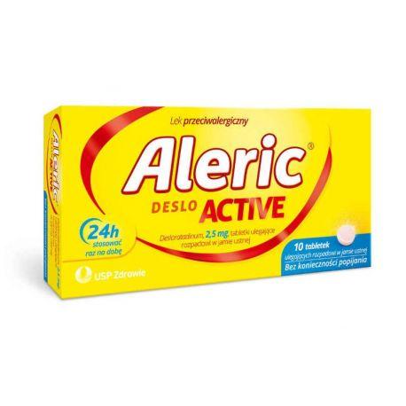 Aleric Deslo Activ 2,5 mg * 10 tabl