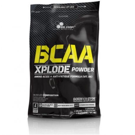 Olimp BCAA Xplode * fruit punch * LIMITED EDITION*  600g + 100g Gratis !