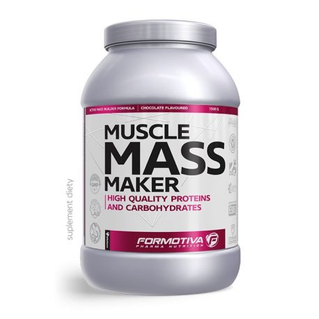 Formotiva Muscle Mass Maker * cookies & cream * 3 kg