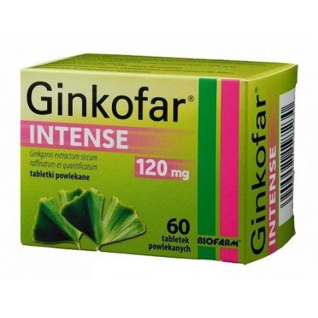 Ginkofar Intense - 120 mg * 60 tabl