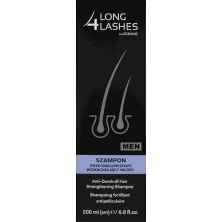 Long 4 Lashes Men * Szampon p/łupieżowy-wzmacniający włosy * 200 ml