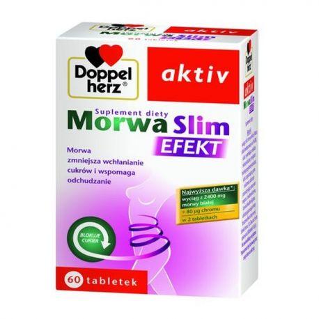 Doppelherz Aktiv * Morwa Slim Efekt * 60 tabl