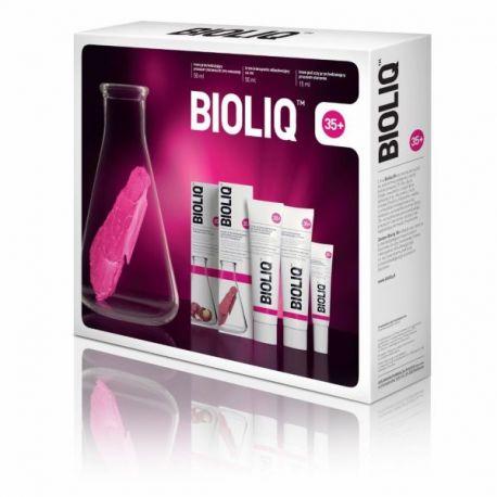 Bioliq 35+  Zestaw - CERA MIESZANA * Krem pod oczy - 15 ml *  Krem na dzień - 50 ml * Krem na noc  - 50 ml