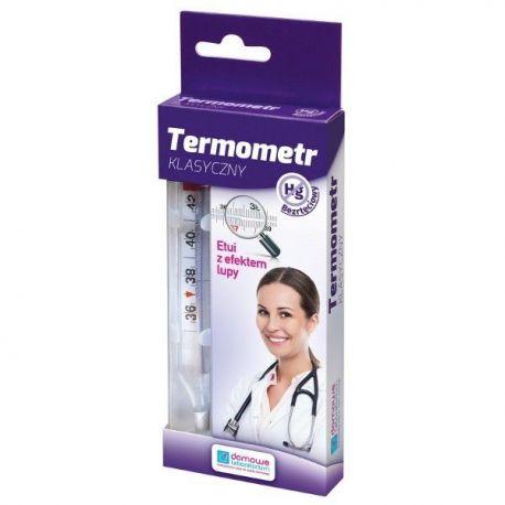 Termometr Bezrtęciowy Klasyczny Domowe Labolatorium  * 1 szt