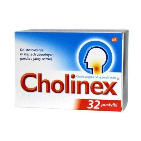 Cholinex * 32 pastylki