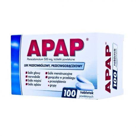 Apap 0,05 g * 100 tabl