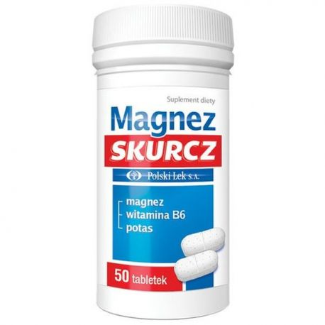 Magnez Skurcz * 50 tabletek