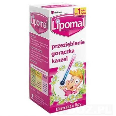 Lipomal - syrop * 125 g