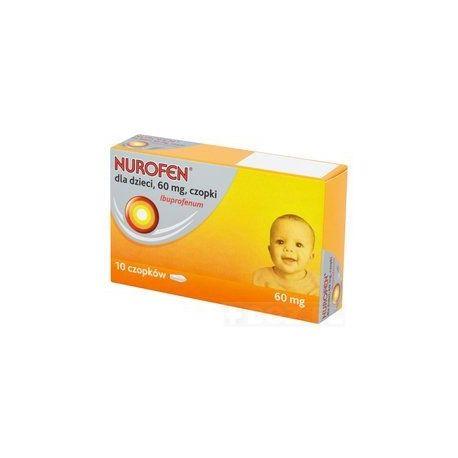 Nurofen - czopki 60 mg * 10 szt