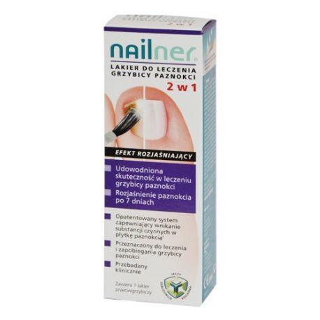 Nailner -  lakier 2 w1 * 5 ml