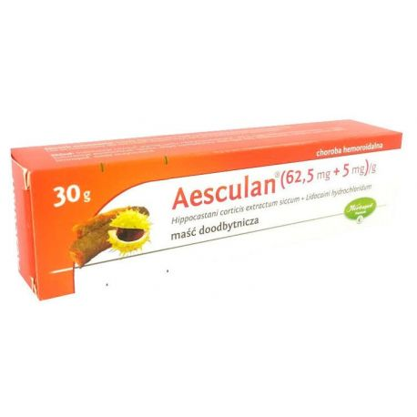 Aesculan - maść *  30g