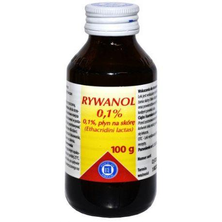 Rivanol 0,1 % płyn * 100g