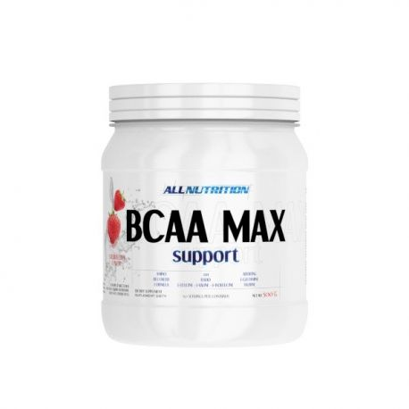 AllNutrition BCAA Max Support * Strawberry * 500g