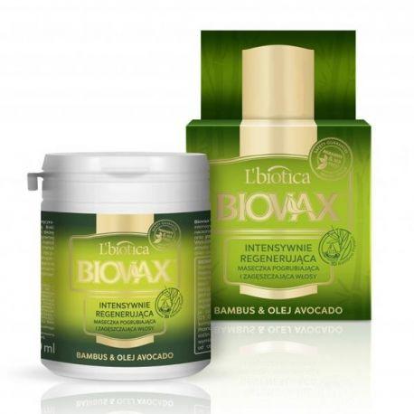 Biovax * Maska do włosów * bambus & olej avocado * 100ml