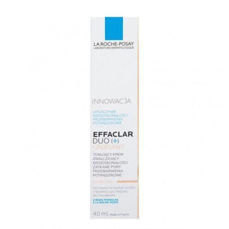 La Roche * Effaclar Duo (+) Unifiant * Krem o odcieniu jasnym * 40 ml