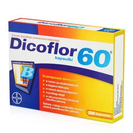 Dicoflor 60 *20 kapsułek