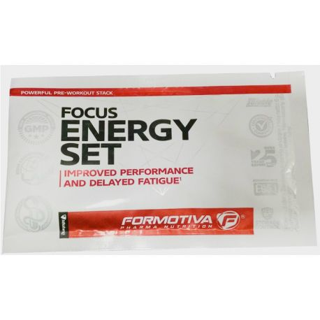 Formotiva Focus Energy Set * bubble gum * 6g