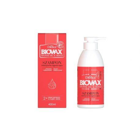 Biovax - Opuntia Oil i Mango * szampon intensywnie regenerujący * 200 ml