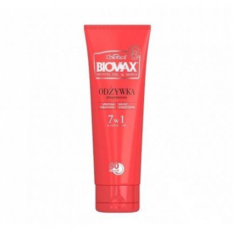 Biovax Opuntia Oil i Mango * odżywka do włosów * 200 ml